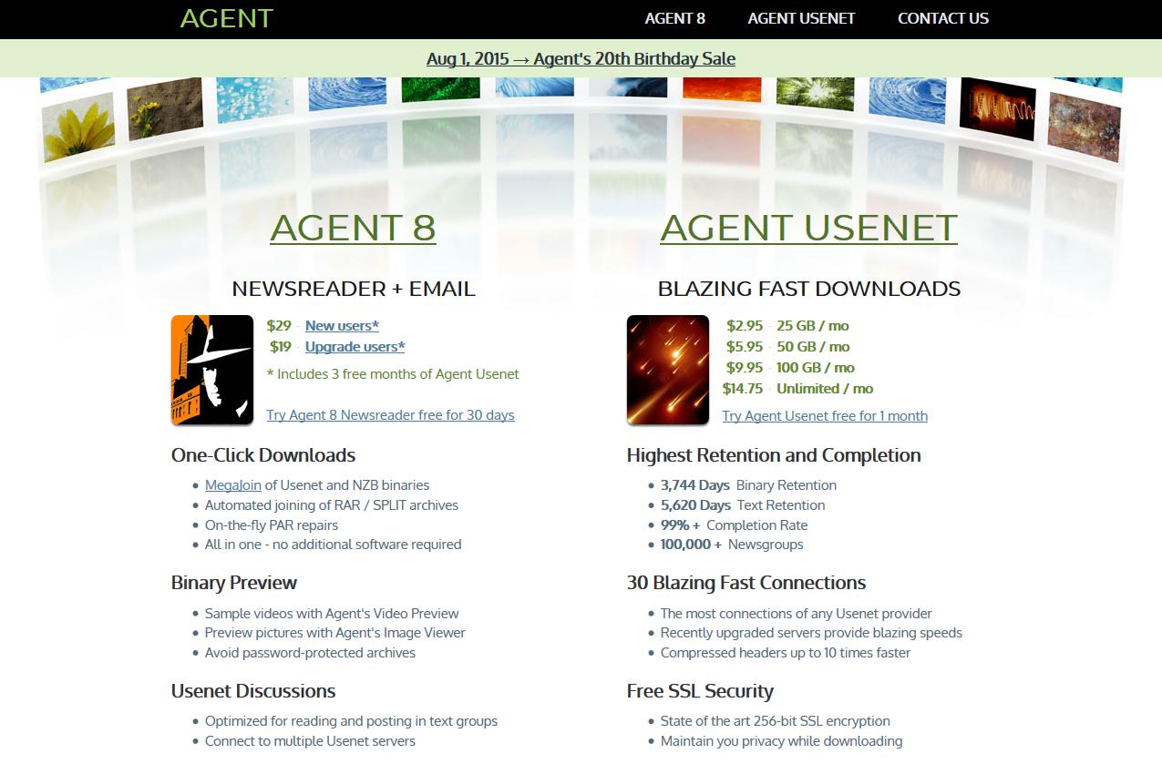Forte Agent Usenet Review - Planet Usenet